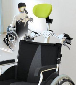 車椅子用安頭台の写真