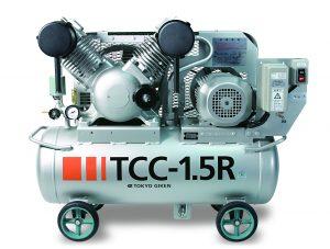 歯科用オイルフリー レシプロコンプレッサ TCC-1.5R TC-2.2Rの写真
