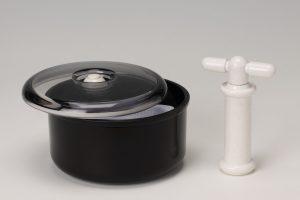マウスガード用シート材保管容器 「減圧保管容器」の写真