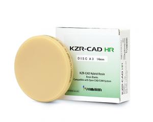 KZR-CAD ハイブリッドレジンディスクの写真