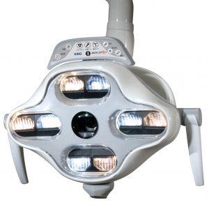 フルハイビジョンカメラ内蔵 歯科用LED無影灯 アカルクスRプラスの写真