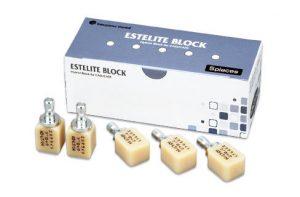 エステライトブロックの写真