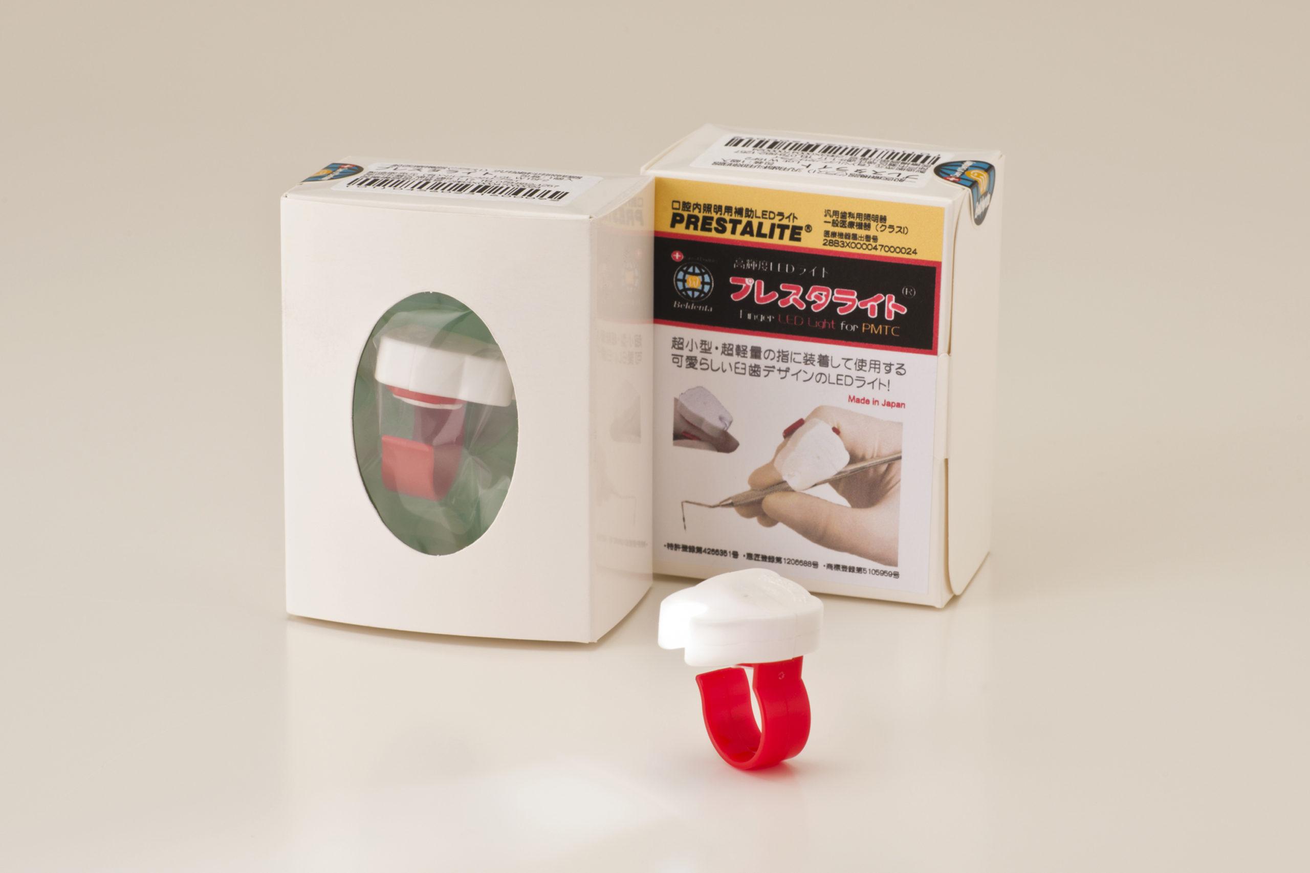 プレスタライト (口腔内照明用補助ライト)の写真