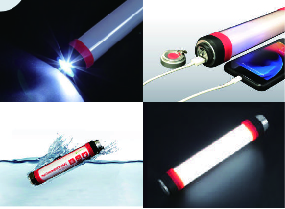 防災ライト「エマージェンシーライト」の写真
