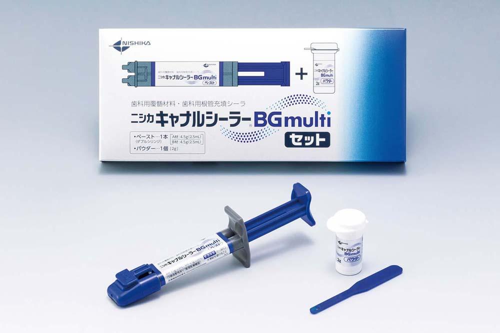 歯科用覆髄材料・歯科用根管充填シーラ「ニシカキャナルシーラーBG multi」の写真